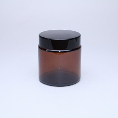 Крышка 100 Баночка КМ-100мл, ТВИСТ коричневая с крышкой