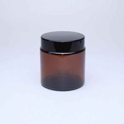 100 Баночка КМ-100мл, ТВИСТ коричневая с крышкой