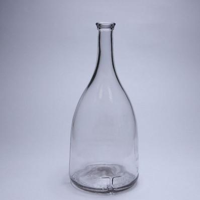"""Стеклянная бутылка """"Белль"""", 1000 мл, пробка"""
