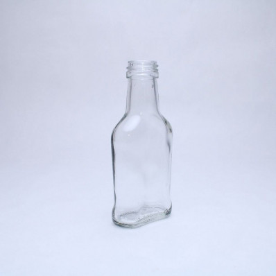 Стеклянная бутылка Коньячная 100 мл, под винтовой колпачок 28мм