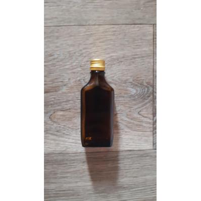 Стеклянная бутылка бомба 100 мл под винтовой колпачок 28мм