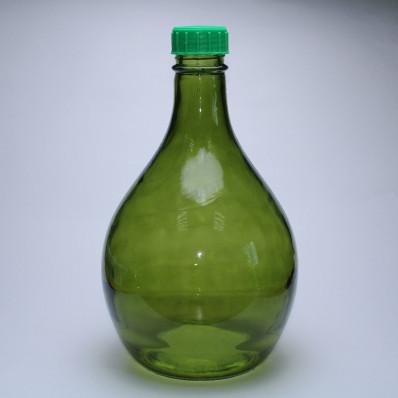 Стеклянный бутыль Лампада 7000мл с колпачком в комплекте