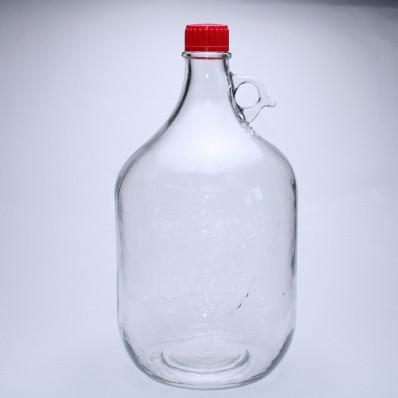 Стеклянный бутыль сулия 5000мл с колпачком в комплекте