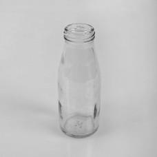"""Стеклянная бутылка """"Молочная-мини"""" 250 мл Твист (ТО43)"""