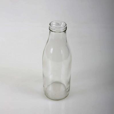"""Стеклянная бутылка """"Молочная"""" 500 мл Твист (ТО43)"""