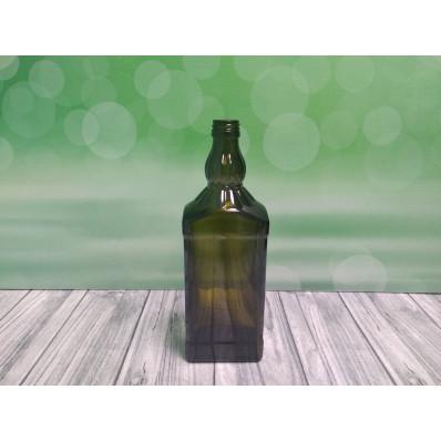 Крышка Стеклянная бутылка NEW, 750 МЛ, под мет. колпачок, 28,00 мм