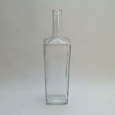 Стеклянная бутылка Гранит, 700 мл, под пробку