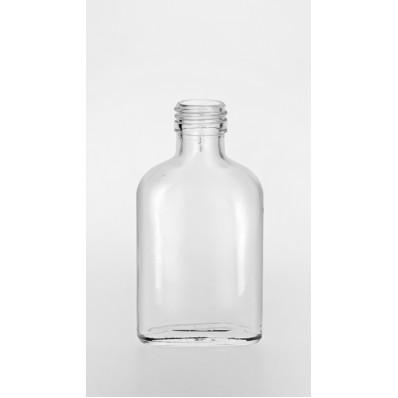 "Стеклянная бутылка ""Бомба 100""  100 мл, под колпачек-пробку"