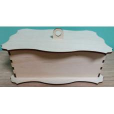 """Коробка деревянная шкатулка """"Сундук"""""""