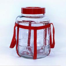 Стеклянная банка (бутыль), 18 л