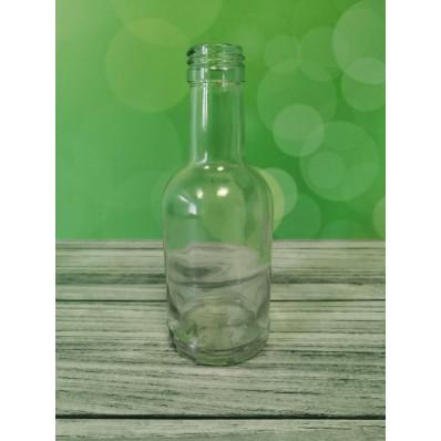 Стеклянная бутылка Домашняя 200 мл под винтовой колпачок 28мм