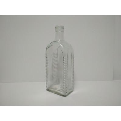 Стеклянная бутылка Маретта 500 мл, под колпачок металлический 28ММ