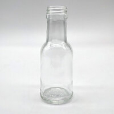 Стеклянная бутылка Домашняя 100 мл, винтовой колпачок