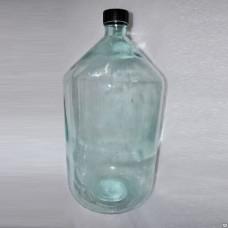 Стеклянная Бутыль Арак 10л, крышка в комплекте