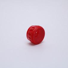 Крышка-дозатор пластиковая для специй красная