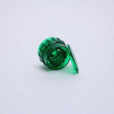Крышка-мельница для специй зеленая