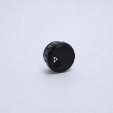 Крышка-дозатор пластиковая для специй черная